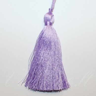 kut0140 apie 7 cm, šviesi, violetinė spalva, kutas, 1 vnt.