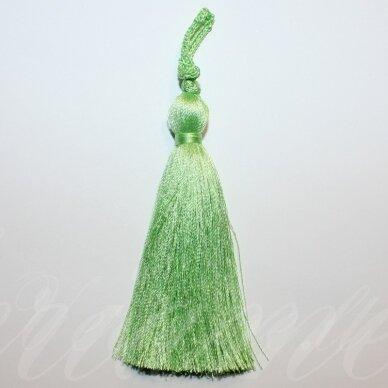 kut0141 apie 7 cm, šviesi, žalia spalva, kutas, 1 vnt.