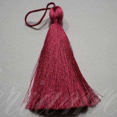 KUT5026 apie 11 cm, tamsi, rožinė spalva, kutas, 1 vnt.