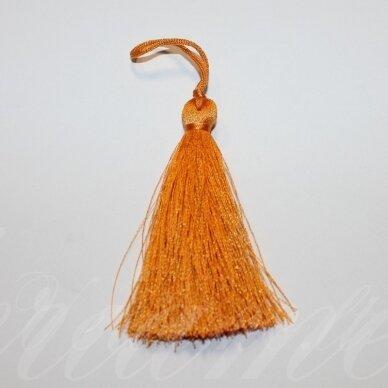 KUT5038 apie 7 cm, oranžinė spalva, kutas, 1 vnt.
