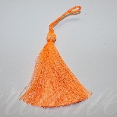 kut5042 apie 7 cm, ryški, oranžinė spalva, kutas, 1 vnt.