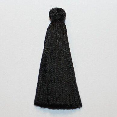 kutbz0001-045 apie 45 mm, juoda spalva, kutas, 1 vnt.