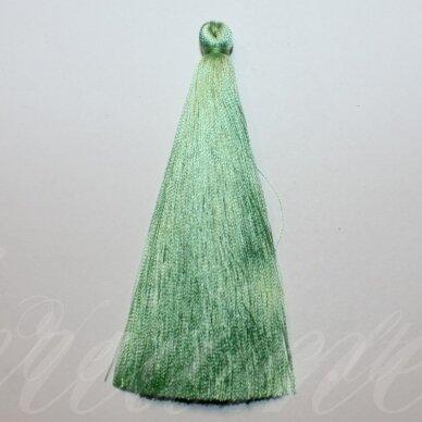 kutbz0017-100 apie 100 mm, šviesi, žalia spalva, kutas, 1 vnt.
