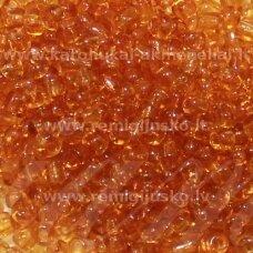 lb0002dmc-12 apie 2 mm, apvali forma, skaidrus, ruda spalva, apie 500 g.