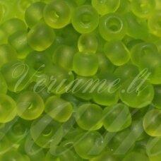 lb0004m/kn-12 apie 2 mm, apvali forma, matinė, žalia spalva, apie 450 g.