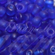 LB0008M/KN-06 apie 4 mm, apvali forma, matinė, karališko mėlynumo spalva, 25 g.