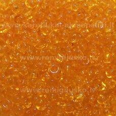 lb0009dm-12 apie 2 mm, apvali forma, skaidrus, gintaro spalva, 25 g.