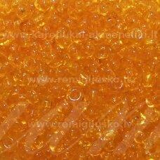 lb0009dm-12 apie 2 mm, apvali forma, skaidrus, gintaro spalva, apie 450 g.