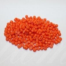 lb0050-06 apie 4 mm, apvali forma, oranžinė spalva, apie 500 g.