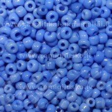lb0043b-08 apie 3 mm, apvali forma, mėlyna spalva, apie 450 g.