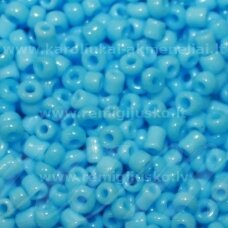 lb0043 m-08 apie 3 mm, apvali forma, žydra spalva, matinis, apie 450 g.