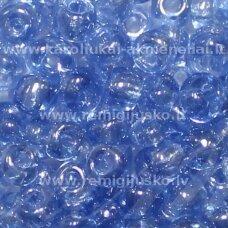 lb0106-06 apie 4 mm, apvali forma, skaidrus, mėlyna spalva, apie 500 g.