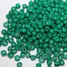 lb3228-06 apie 4 mm, apvali forma, tamsi, žalia spalva, apie 25 g.