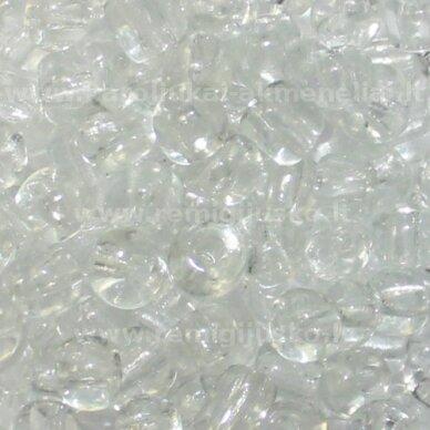 lb0001-06 apie 4 mm, apvali forma, skaidrus, apie 450 g.