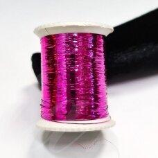 lrs0002 rožinė spalva, liurekso siūlas, apie 20 m.