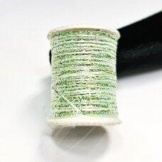 lrs0003 žalsva, marga spalva, liurekso siūlas, apie 20 m.