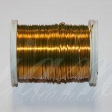 LTR0004 apie 0.3 mm, tamsi, geltona spalva, lankstymo vielutė, 50 m.