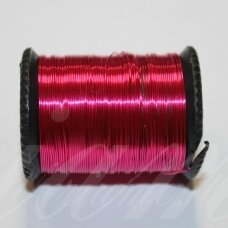 ltr0006 apie 0.8 mm, rožinė spalva, lankstymo vielutė, apie 7 m.