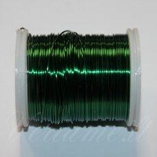 ltr0007 apie 0.3 mm, žalia spalva, lankstymo vielutė, 50 m.