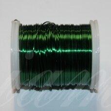 ltr0007 apie 0.3 mm, žalia spalva, lankstymo vielutė, 8 m.