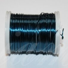 ltr0009 apie 0.3 mm, mėlyna spalva, lankstymo vielutė, 50 m.