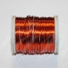 ltr0011 apie 0.3 mm, oranžinė spalva, lankstymo vielutė, 50 m.