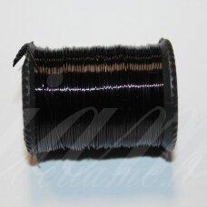 ltr0015 apie 0.3 mm, juoda spalva, lankstymo vielutė, 50 m.