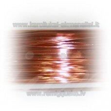 ltr0016 apie 0.3 mm, šviesi, vario spalva, lankstymo vielutė, apie 8 m.