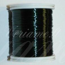 LTR0017 apie 0.3 mm, tamsi, žalia spalva, lankstymo vielutė, 8 m.