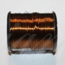 LTR0019 apie 0.3 mm, šviesi, ruda spalva, lankstymo vielutė, 50 m.