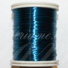 ltr0024 apie 0.3 mm, mėlyna spalva, lankstymo vielutė, 50 m.