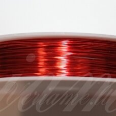 ltr5014 apie 0.4 mm, raudona spalva, lankstymo vielutė, 12 m.