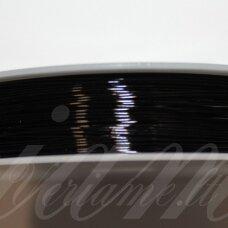 ltr5015 apie 0.4 mm, juoda spalva, lankstymo vielutė, 12 m.