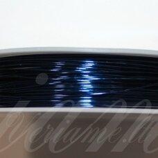 ltr5018 apie 0.4 mm, tamsi, mėlyna spalva, lankstymo vielutė, 12 m.