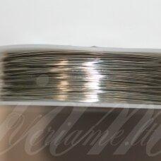 ltr5019 apie 0.3 mm, metalo spalva, lankstymo vielutė, 20 m.