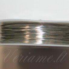 ltr5019-0.5 apie 0.5 mm, metalo spalva, lankstymo vielutė, 8 m.