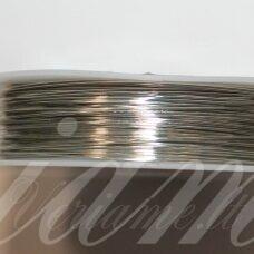 ltr5019 apie 0.8 mm, metalo spalva, lankstymo vielutė, 3 m.