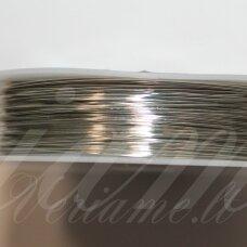 ltr5019 apie 0.6 mm, metalo spalva, lankstymo vielutė, 5 m.