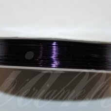 ltr5020 apie 0.6 mm, tamsi, violetinė spalva, lankstymo vielutė, 5 m.