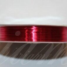 ltr5022 apie 0.3 mm, rožinė spalva, lankstymo vielutė, 20 m.