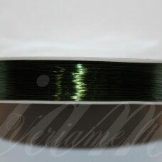 ltr5023 apie 0.3 mm, tamsi, žalia spalva, lankstymo vielutė, 20 m.