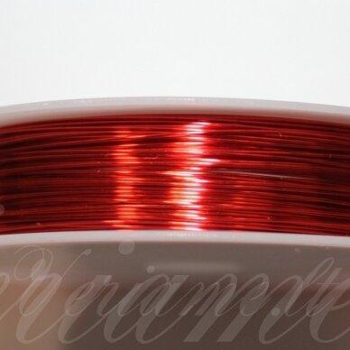 ltr5014 apie 0.8 mm, raudona spalva, lankstymo vielutė, 3 m.