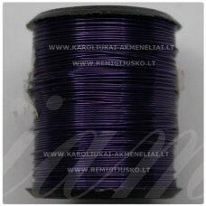 lvt0018 apie 0.6 mm, violetinė spalva, lankstymo vielutė, 14 m.
