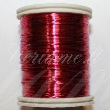 lvt0049 apie 0.8 mm, rožinė spalva, lankstymo vielutė, 7 m.