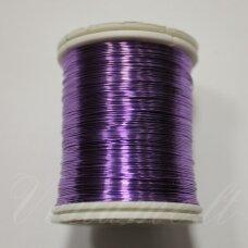 lvt5002 apie 0.3 mm, violetinė spalva, lankstymo vielutė, 50 m.