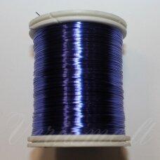 lvt5005 apie 0.3 mm, mėlyna spalva, lankstymo vielutė, 50 m.