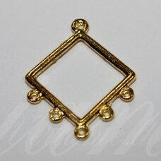 MD0501 apie 3 x 23.5 mm, aukso spalva, paskirstytojas, 6 vnt.