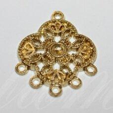 MD0511 apie 29 x 23.5 mm, aukso spalva, paskirstytojas, 4 vnt.