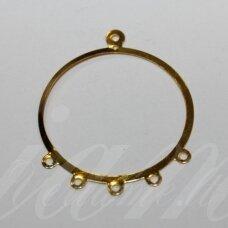 MD0541 apie 37.5 x 31 mm, auksinė spalva, paskirstytojas, 20 vnt.