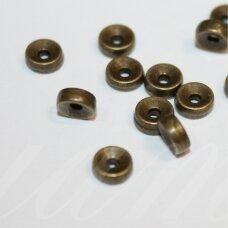 md0832.5 apie 2.5 x 5.5 mm, žalvario spalva, intarpas, apie 36 vnt.